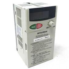 Inverter FR-E520-0.1K Mitsubishi 0.1kW 200-240VAC 3Ph FRE5200.1K FREQROL E500