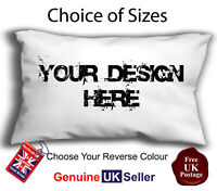 PERSONALISED CUSHION OBLONG COVER, RECTANGLE PHOTO CUSHION COVER, BOUDOIR