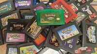Nintendo GBA Video Game Console Card Cartridge Assorted Pokemon Fanmade Hacks