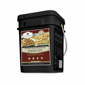 Freeze Dried Emergency Food Survival Supply Gluten Free Meal 84 Serving Bucket