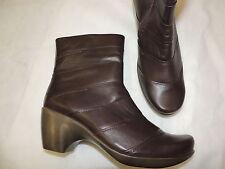 NAOT brown Leather boots size 10 / 41 MINT shape! L@@K!
