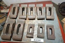 Lot of Cast Iron Hold Down Clamps (10) Items (Inv.36341)