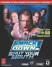 WWF WWE Smack Down! Here Comes the Pain Prima's Strategy Guide book