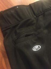 Rawlings Men's Black Baseball Pants Size XL