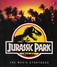 Vintage Jurassic Park The Movie Storybook 1993 PB Grosset & Dunlap 1st Print