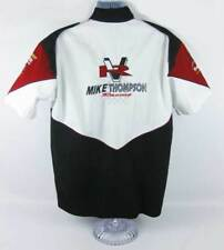 Mike Thompson Racing Button Up Shirt IHRA International Hot Rod Association