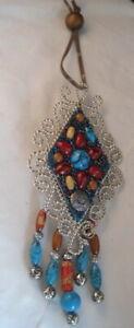 Southwestern Artisan Stone Embellished Ornament