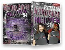 ECW Wrestling: Hardcore Heaven 1994 DVD-R, Terry Funk Cactus Jack Tommy Dreamer