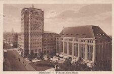 Einriss AK Düsseldorf Wilhelm-Marx-Haus 1926 Ereignisstempel Gesundheit