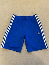 Adidas popper shorts Blue M Retro