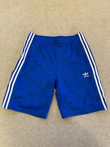 Adidas popper shorts Blue M Retro