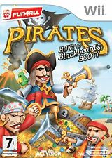 Wii Pirates Hunt for Black Beard's Booty - Excellent Condition with book