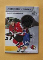 Daniel Alfredsson 2005-06 Sp Game Used Authentic Fabrics #AFDA