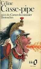 CÉLINE: Casse-pipe & Carnet du cuirassier Destouches (frz./francais)