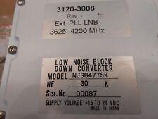 C BAND PLL LNB C BAND PLL 3.625-4.2 GHZ 3120-3008