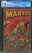 Marvel Mystery Comics 62 CGC 1.8 - Alex Schomburg Cover - Golden Age Human Torch