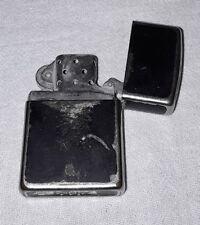 VINTAGE 1997 ZIPPO BLACK CRACKLE LIGHTER