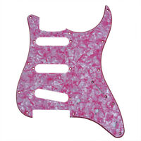 1 Red Pearl Electric Guitar SSS Pickguard Scratch Plate 3 ply for Fender Strat