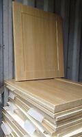 Shaker Light Oak Kitchen Cupboard Doors/drawers to fit Howdens Magnet Wren Units