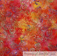 Algodón Hoja verde tela impresión Batik confección * ARTE Acolchado
