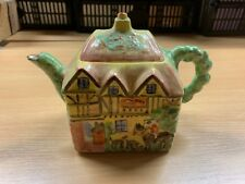 "1920s/30s KPB KENSINGTON WARE ""THE HUNTSMAN"" COACHING INN CHARACTER TEAPOT (P4)"