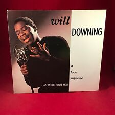 """WILL DOWNING A Love Supreme 1988 UK 12"""" vinyl single EXCELLENT CONDITION a"""