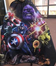 "Avengers Barber hair cutting and styling cape 55""X60"""