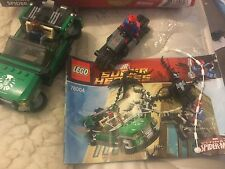 Lego marvel super hereos 76004 spider-man spider-cycle chase
