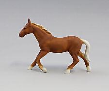 Porzellan Figur Pferd Wagner&Apel Bisquit farbig 16x13cm 9942676