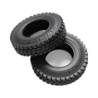 1 Pcs Rubber Tires For Tamiya 1:14 RC Tractor Trailer Mover Truck King Hauler