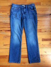 LEVI'S Straight Leg 505 JEANS DENIM Stretch Cotton Medium Wash 35 X 32 Sz 10M