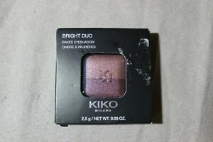 KIKO MILANO OMBRES A PAUPIERES N°15 DUO FARDS ROSE PRUNE NEUF