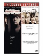Single White Female/Closer (DVD, 2010, 2-Disc Set)  Natalie Portman BRAND NEW
