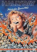"""DVD """"Johnny Hallyday : Live en el Palacio deportes (1982) NUEVO EN BLÍSTER"""