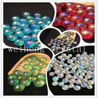 Titanium rainbow aura ball lemurian crystal sphere healing