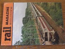 $$v Revue rail magazine N°42 ligne A RER  VO 2N Zurich  dedoublement BLS  Grece