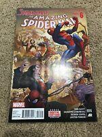 Amazing Spiderman 14 Vol. 3 Marvel Spiderverse Part 6 Finale 2015