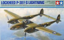 Tamiya 1/48 P-38 F/G Lightning Kit - 61120 Model Kit