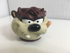 Taz Tasmanian Devil Applause 3D Plastic Cup Childs Mug 1995 Warner Bros RARE