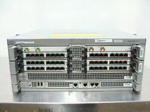 Cisco ASR 1004 V03 Aggregation Services Router ASR1000-RP1 ASR1000-ESP10 Loaded!