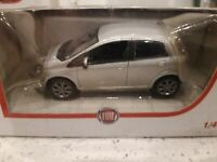 Norev 1/43 Fiat Diecast model dealer new old stock PUNTO 3 D00R. SILVER