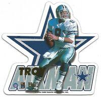 1996 NFL DIE-CUT MAGNETS #1 ~ TROY AIKMAN #8 ~ DALLAS COWBOYS HOF ~ NEW SEALED