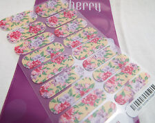 Jamberry Summer Cottage 0316 69B3 Heat Activated Nail Wrap (Full Sheet )