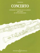 Concerto for Oboe & Piano Reduction Chamber Music New 048009057