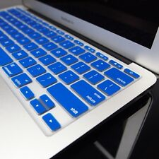 ROYAL BLUE Silicone Keyboard Cover for Macbook Air 11""