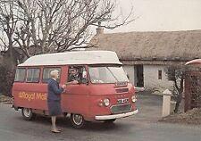 (97656) Postcard Royal Mail Bus ex Shannochie Post Office Arran Scotland SPB5