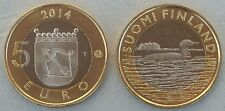 """5 Euro Finnland 2014 """"Tiere der Provinzen - Savonia"""" unz."""