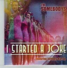 (CV838) The Somebodys, I Started A Joke - ft Anthony Moriah - 2012 DJ CD