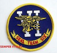 US NAVY SEAL TEAM SIX 6 PATCH KILLED BIN LADEN USS WOW
