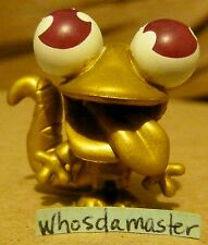 Moshi Monsters Series 8 Rare #143 GOLD SLURPY Moshling Mint Out Of Package